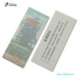 Auto-adhésif UHF Aln9654 étiquette tag RFID de pare-brise