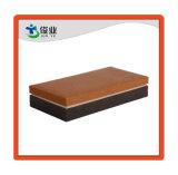 Con el logotipo de diseño propio monedero marrón/caja de cartón de embalaje y de regalo