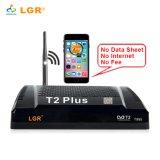 Full HD DVB-T2 Plus le récepteur de radiodiffusion vidéo numérique TV Box +Remote