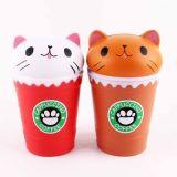 Giocattolo molle aumentante lento dentellare Squishy della decorazione del regalo dell'accumulazione del contenitore 11cm di bottiglia per il latte del giocattolo Squishy dell'OEM