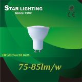 De bonne qualité SMD GU10 5W Ampoule de LED pour carter de lampe de feu