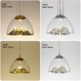 Moderner unbedeutender kreativer nordischer Schlafzimmer-Esszimmer-Leuchter-Deckenleuchte-hängende Lampen-Goldgebirgssilber-Gebirgshängende Lampe
