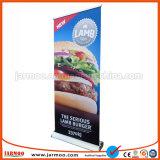 Publicidade exibição do banner Roll Up Portátil