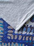 印刷されたフランネルの羊毛+ Sherpa毛布