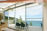 Большие дверная рама перемещена из алюминия из закаленного стекла задней двери