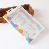Embalagem de plástico caixa transparente para a tampa de proteção do Telefone Celular