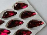 Gran Fábrica directamente ala Venta al por mayor punto de la forma de cristal de atrás de piedras de fantasía para joyería
