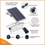 1500lm太陽ライトリモート・コントロール動きセンサーが付いている屋外の庭65LEDの洪水ライト