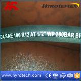 SAE 100R12 en caoutchouc du tuyau flexible hydraulique/Mangueras DIN EN856 4sh