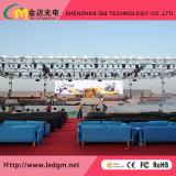 SMD exterior P4.81mm plena etapa de color de la pantalla LED de alquiler
