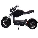 EEC Coc는 와 함께 Citycoco Electric Motorcycle 스쿠터를 승인합니다 2개의 바퀴와 세련된 댕글링 시트