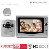 Verdrahtetes videotür-Telefon für einzelne Landhaus-Wechselsprechanlage