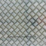 5 de Geruite Plaat van het Patroon van de staaf Aluminium voor Antislid