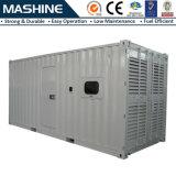 pianta diesel silenziosa del generatore di 800kw 1000kVA Cummins