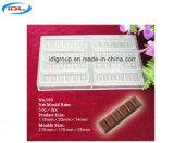 Grau alimentício PC barra de chocolate Material de Molde