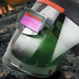 Novo capacete de Solda Escurecimento automático com configuração de LCD exibir