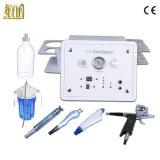 4 en 1 multifunción chorro de agua hidro peeling facial de oxígeno de la máquina de limpieza del dispositivo de belleza