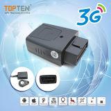 OBD portátil suporte GPS Rastreamento RFID por distância com 8 m de história de memória (TK208-JU)