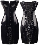 L'unità di elaborazione sexy merletta in su i vestiti dal corsetto, 2 colori