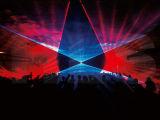 高い発電20W RGBのフルカラーのアニメーションの防水段階のレーザー光線