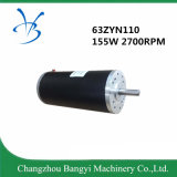 63 de zyn110-2433 24V DC 0,55nm 2700rpm de motor DC pulido de 155W
