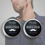 Основная часть высшего качества оптовая oem Private Label 60g сглаживание все органические природных мужчин воскообразный антикоррозионный состав для бороды бальзам масло