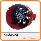 Diam200mm ventilador axial do rotor externo com invólucro de metal e lâminas (SFG-112A)