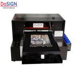 高品質の暗い白すべてのカラー綿の織物の印字機