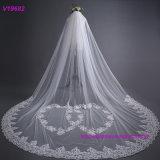 Nuovo velare del vestito da cerimonia nuziale del merletto di alta qualità 3m di stile