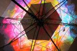 Зонтик гольфа подарка стеклоткани качества Windproof с подгонянным печатание цифров (GOL-0030FAC)