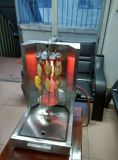 Machine van Shawarma Doner Kebab van het Gas van het roestvrij staal de Mini (hgv-360)