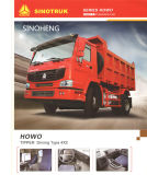 290HP Sinotruk HOWO LKW-Kipper 4X2 6wheels