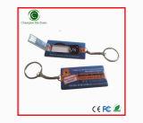 De mini Stok van de Aandrijving USB van de Pen van de Kaart USB van de Naam met Sleutelring