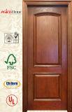 材木のドア、木製のベニヤのドア、純木のドア