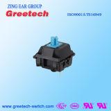Zing-Ohr-Au Aolly mechanischer Tastatur-Schalter mit blauem Schlüsselstamm