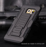Product新しいCell Phone Coverのパソコン+ Samsung Galaxy S7 Mobile Phone Armor CaseのためのSilicone Armor Case
