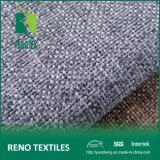 Knitting Backingの100%Poly Imitating Linen Decorative Fabric Sofa