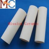 Tubo de cerámica el 99% Al2O3 del óxido de aluminio para el horno