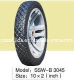 rotella posteriore semi pneumatica di pollice 10X2 per la camminata dietro i falciatori