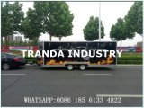 Tranda schiebendes Glas Windows Mobile Kebab Van