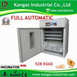 528 des oeufs de volaille automatique de l'Incubateur petit incubateur Kp-8