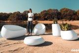 Ensemble de mobilier de jardin Vondom canapé d'attente de tableau de thé Shopping Mall canapé d'attente de trois pièces