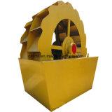 Alta capacidad Cubo de la rueda de lavado de arena Lavadora