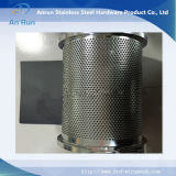 Поставленный Perforated песок пробки металла для фильтра для масла