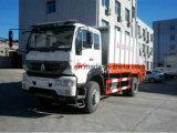 Sinotruk 상표 쓰레기 압축 분쇄기 쓰레기 트럭 또는 흡입 트럭