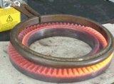 Inducción de frecuencia media cobre forjado en caliente máquina
