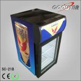 Neue Art-Getränkebildschirmanzeige-Kühlvorrichtung (SC21B)