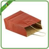 Bolsas de papel coloreadas/bolsos rojos del regalo