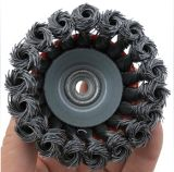 磨く機能鋼線のブラシ車輪のブラシ