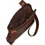 Горячая продажа отдыха Дизайн коричневые кожаные сумки через плечо креста органа мешок